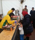 Helping Refugees Near the German and Austrian Border