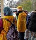 Hilfe für ein Flüchtlingslager in Frankreich