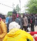 Hilfe für Flüchtlinge in Frankreich