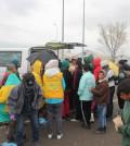 在希臘伊多梅尼接濟難民
