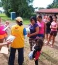 援助哥斯大黎加邊境的難民