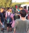 提供純素食物和物資給在塞爾維亞與克羅埃西亞邊境的難民