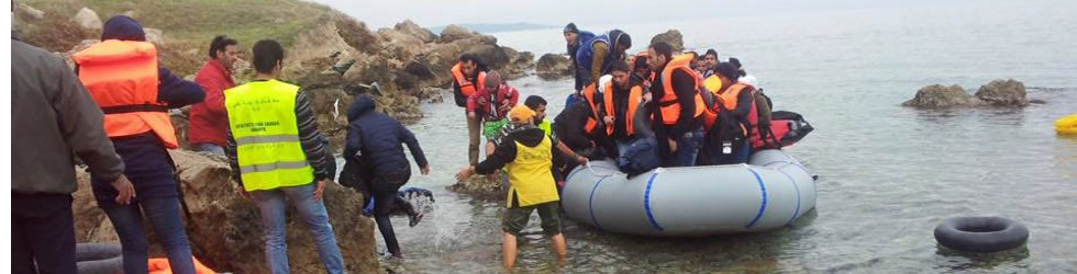 Assisting the Continuing Journeys of Refugees Arriving in Lesbos Island, Greece
