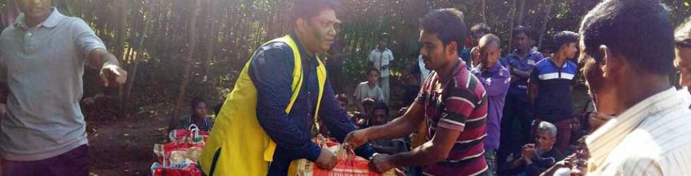 在孟加拉賑助難民見證奇蹟